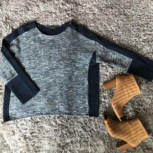 Pretty navy sweater